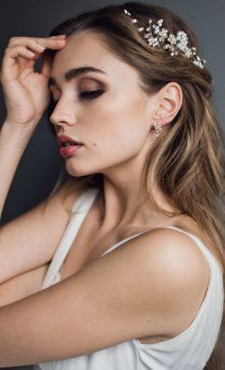 BELLISIMA hair pins 1 White Jasmine Accessories