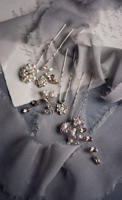 BELLISIMA hair pins White Jasmine Accessories 5