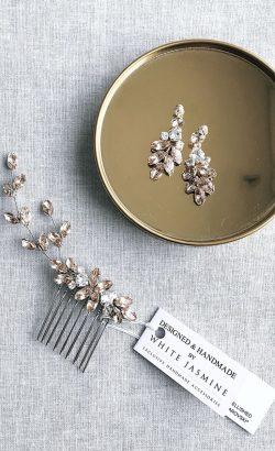 Grzebyk AZALEA White Jasmine Accessories 3
