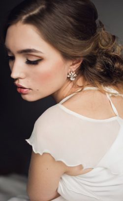 kolczyki BELLA White Jasmine Accessories 1